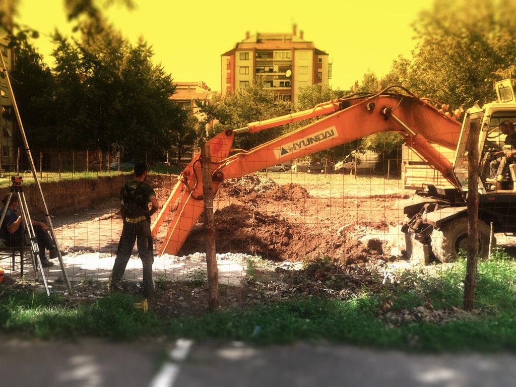 Stabilprojekt - Gradiliste gradilište 1 zgrade u ulici Naserova