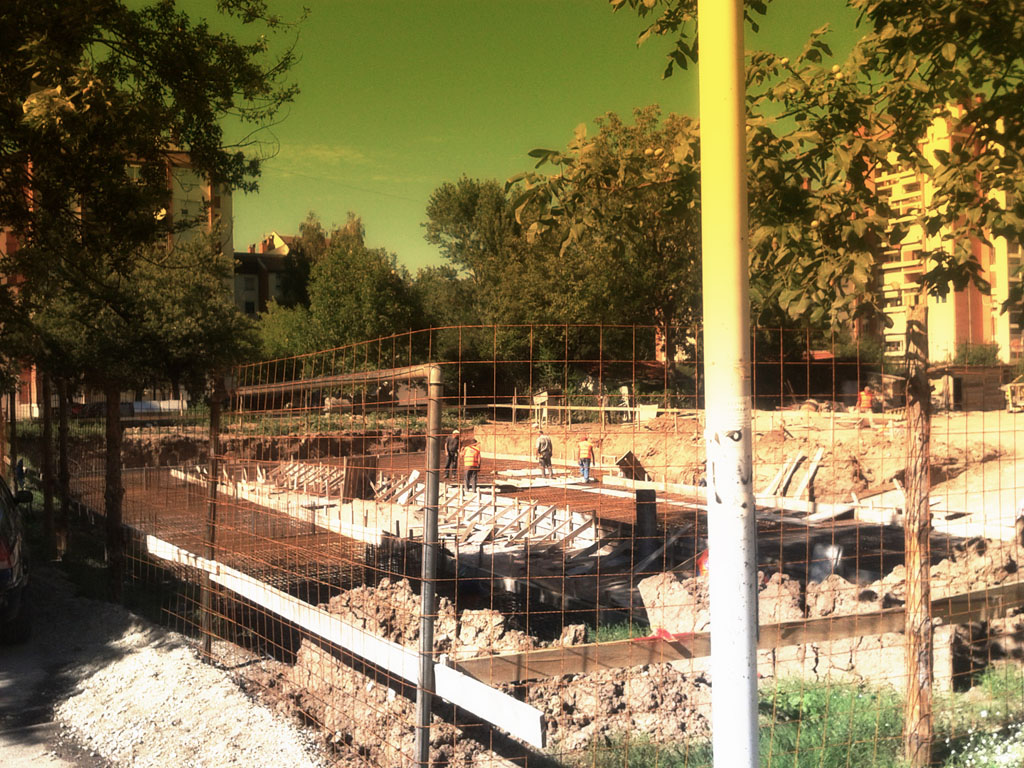 Stabilprojekt - Gradiliste gradilište 3 zgrade u ulici Naserova