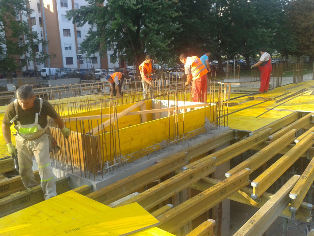Stabilprojekt - Gradiliste gradilište 6 zgrade u ulici Naserova