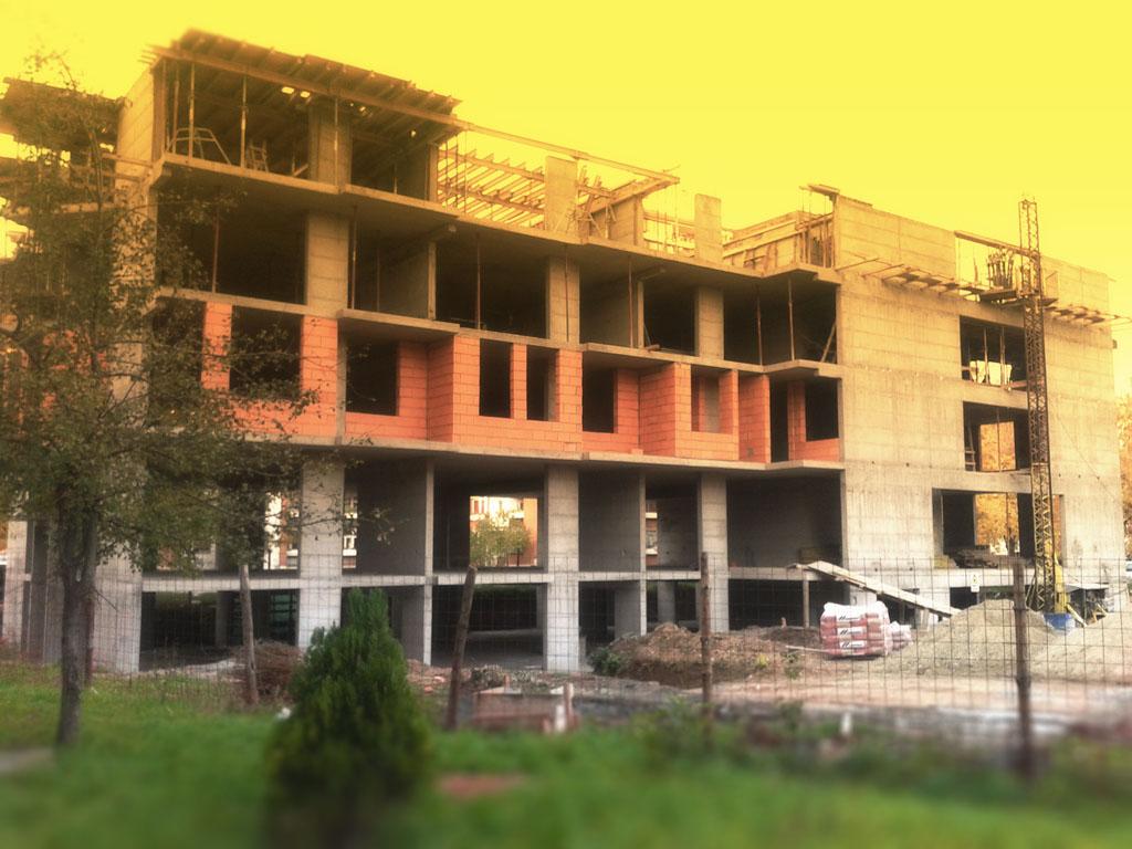 Stabilprojekt - Gradiliste gradilište 11 zgrade u ulici Naserova