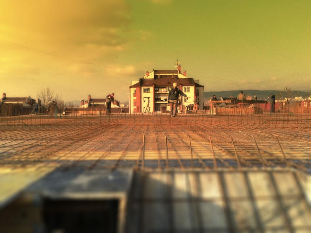 Stabilprojekt - Gradiliste gradilište 13 zgrade u ulici Naserova