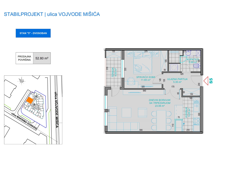 prodaja, stanova, Niš, Nis, VM STAN 5