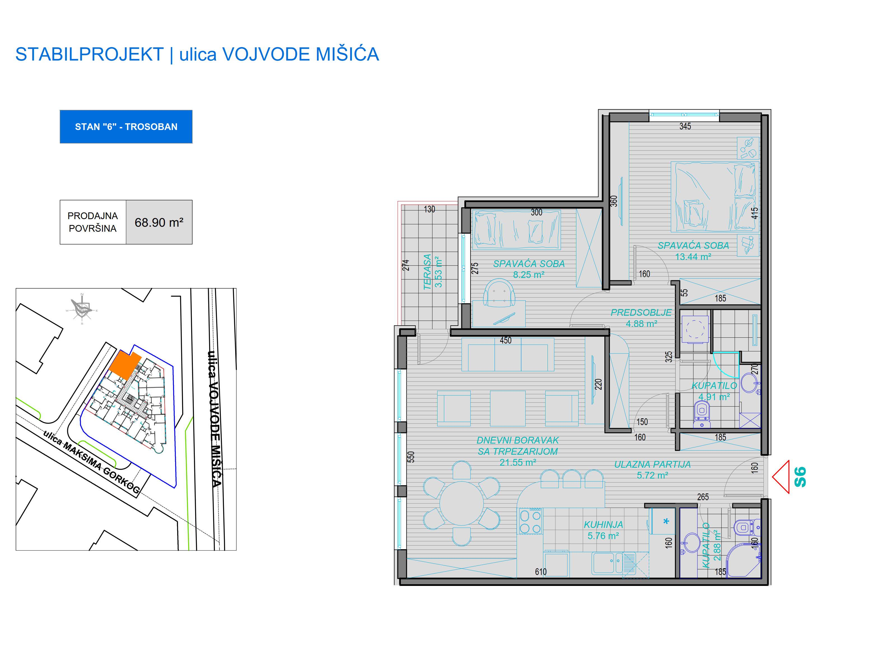 prodaja, stanova, Niš, Nis, VM STAN 6